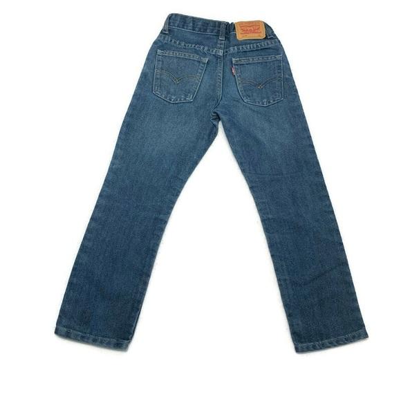 Levi Boys Denim Jeans Reg 511 Slim Denim Jeans
